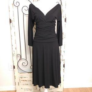 Kenneth Cole black stretchy dress small